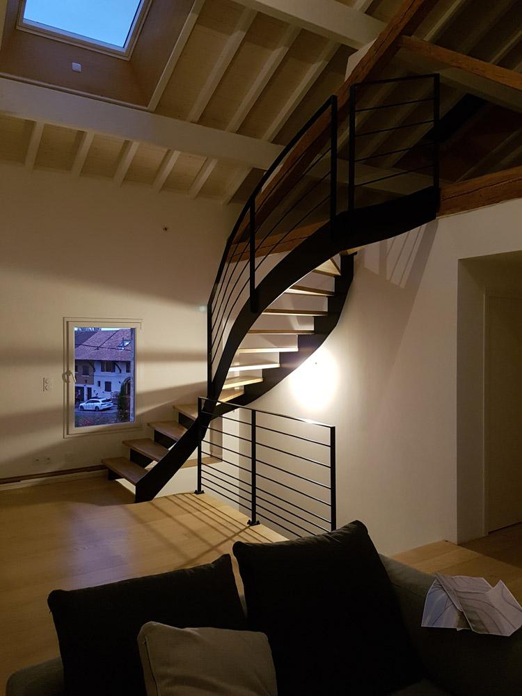 Metalinov Mtallerie Et Serrurerie En HauteSavoie Escaliers